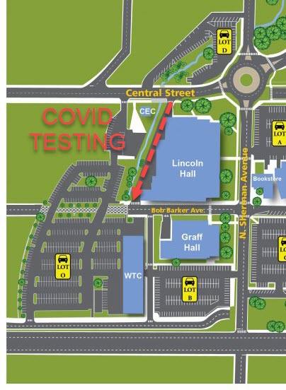 OTC Springfield Map COVID Testing LCN